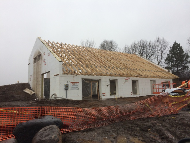 trusses in place 11-16-2017