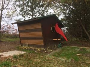 Birdhouse with Cardinal Jaime