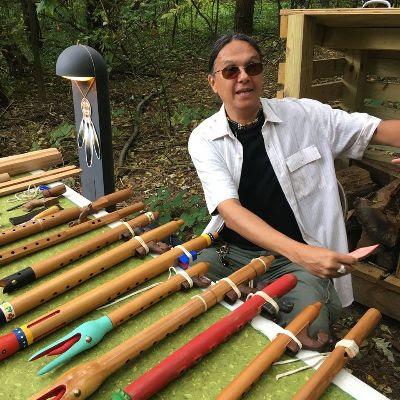 Jeffrey with Flute