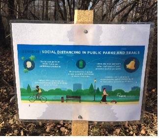 trail social distance